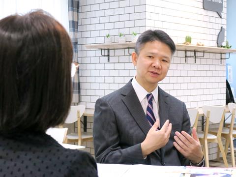 白百合学園の伝統を語る田畑先生
