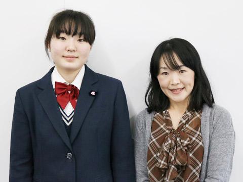 井田さん親子