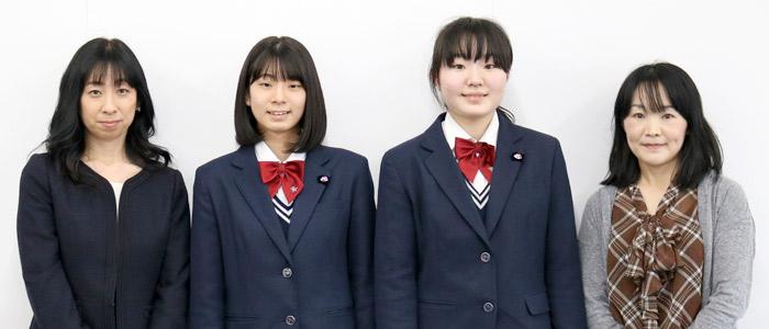 井田さん親子、土手さん親子