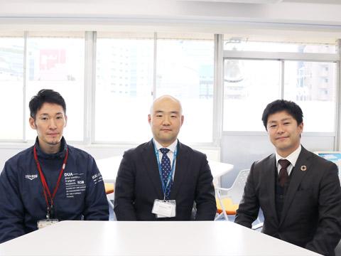 長尾大介先生、天沼耕平氏、川邊健司先生