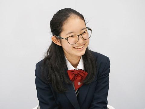 中学生徒会長を務める丸山さん