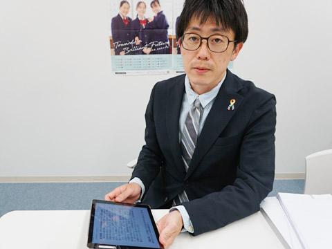 高校2年生のクラス担任でもある児島先生