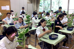 総合学習の時間を利用した教育
