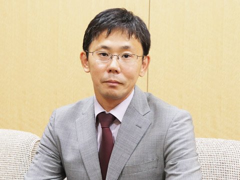 中高一貫部教頭田中先生