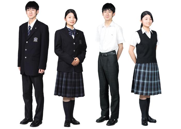 一貫部(高等学校)冬服/夏服