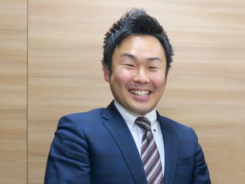 目黒日大のオリジナル教科の一つ、「IP教育」の授業担当でもある広報部部長の天野先生。