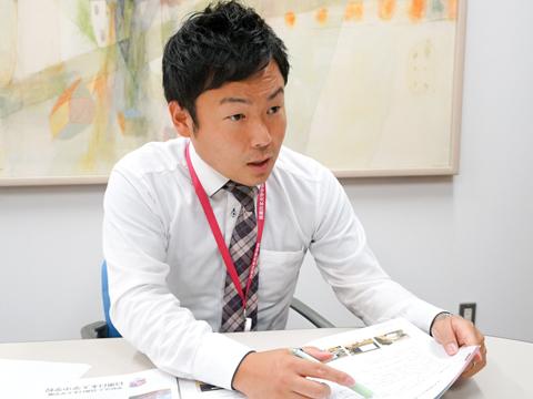 インタビューに応じてくださった天野先生。