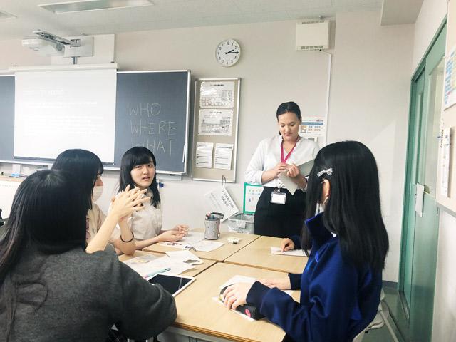 英語教育③グループで英会話