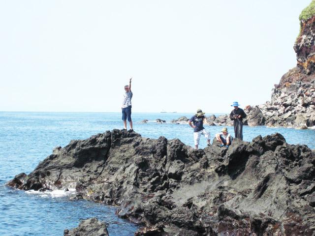 中2フィールドワーク−伊豆大島