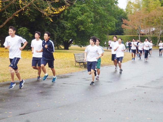 マラソン大会−立川昭和記念公園