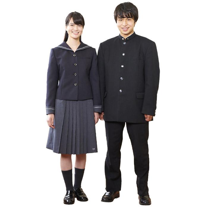 男女制服画像
