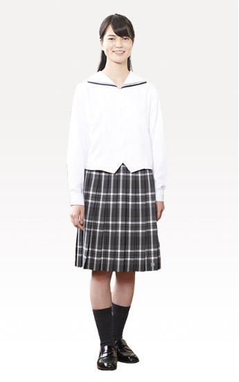 女子制服画像