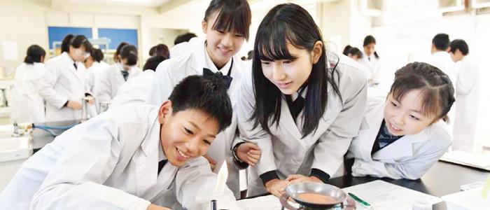 他校を圧倒する茗溪学園の理数系プログラム