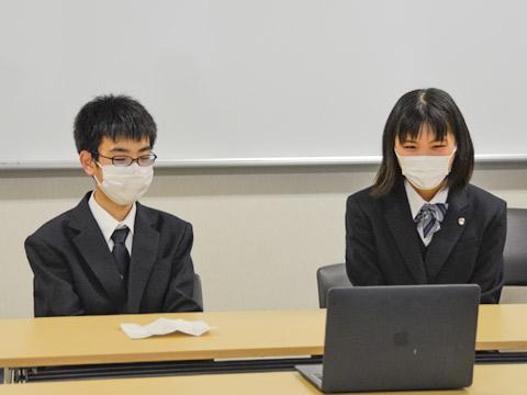 (左から順に)ACクラス1期生としてオンラインインタビューに協力してくれたK.KくんとM.Kさん
