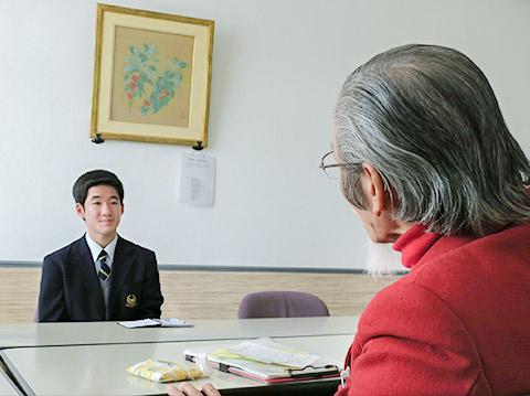 初道さんと飯田くん