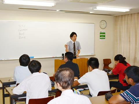 夏休み期間中、日本大学の軽井沢研修所で毎年行われる「合宿セミナー」