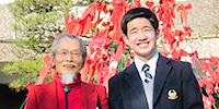 初代×第60期生日大明誠・生徒会長対談
