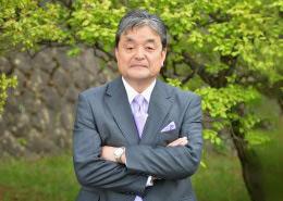日本大学明誠高等学校長奥秋昭蔵
