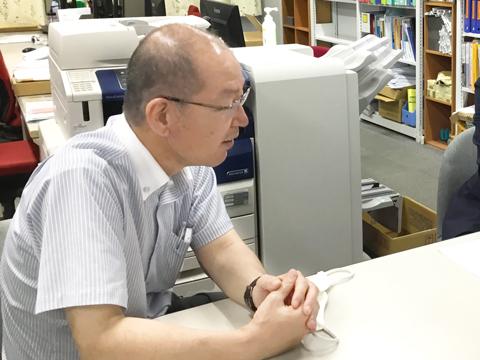 「国公立大学は5教科7科目をバランスよく学習して土台をしっかりと作り、質の良い学習をじっくりと積み重ねていくことが大切」と話す松田先生。