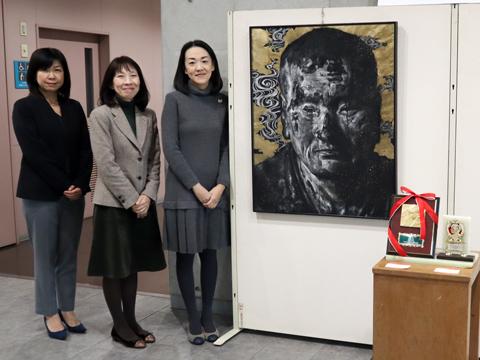 Oさんの息子さんが出展した作品。第48回東京私立中学高等学校「生徒写真・美術展」中学の部にて見事に「会長賞」を受賞しました。勉強だけではなく、生徒の個性を磨くのも明星ならでは。