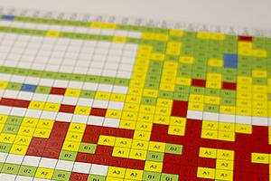 生徒一人ひとり、中学1年から学力をデータ化