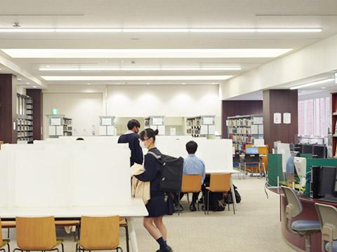 学習支援センターの様子