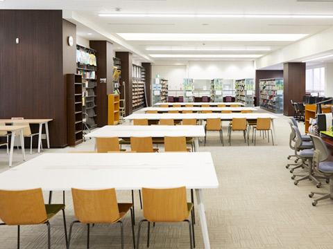 校内に設置された学習支援センター