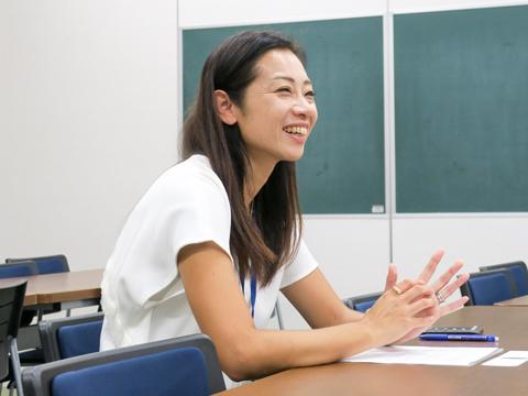 週末はフラッグフットボールというスポーツに取り組んでいる杉田さん。何と日本代表としてW杯に出場経験も!