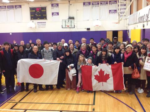 「カナダ海外研修」では、たくさんの人々と出会うことで視野が大きく広がる。