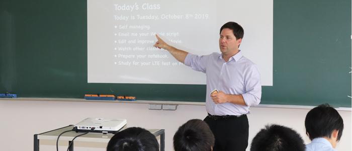 独自のプログラム「LTE」で実践的な英語力を育む