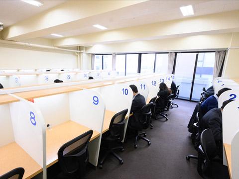 武蔵野の自習室