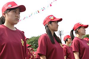 武蔵野生の日常が垣間見えた体育祭