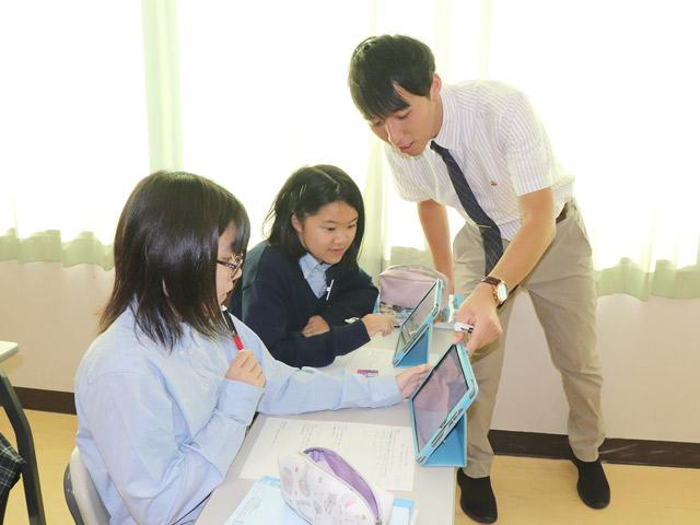 普段の授業風景 iPadを使った授業