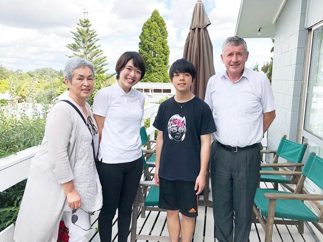 ニュージーランド海外留学 ホストファミリーと