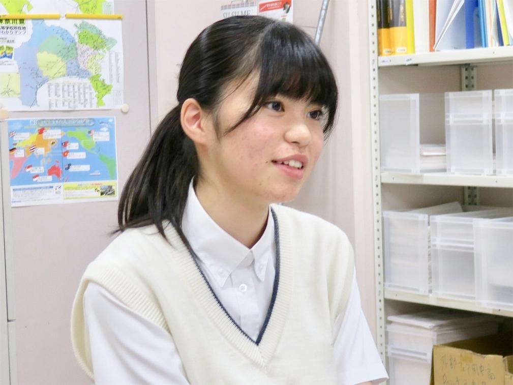 笑顔でハキハキと話してくれた増田さん。