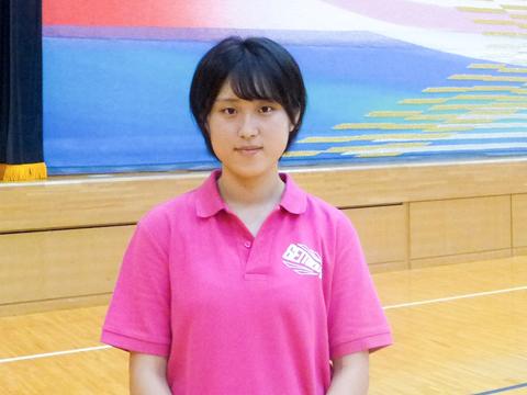 学校への愛があふれる生徒会長の吉田さん。