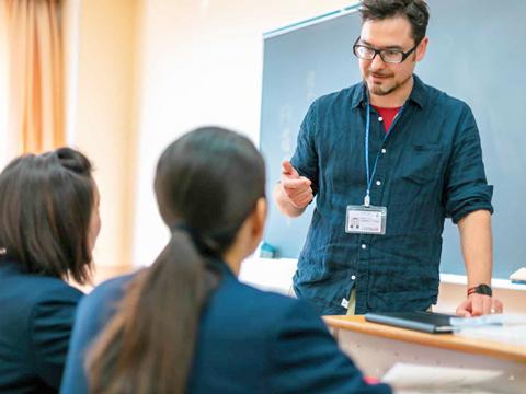ネイティブの先生と面接の練習ができるため、試験当日も安心。