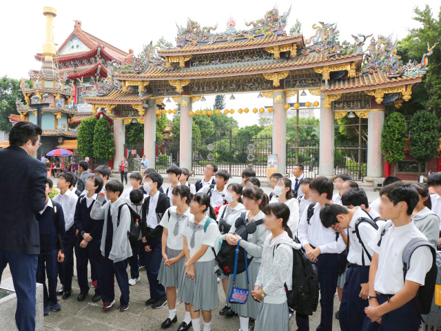 中3 NS台湾研修