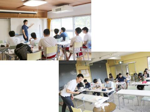 赤倉学習教室のようす