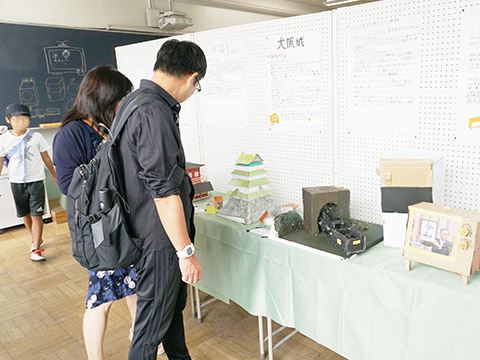中1のクラス展示「東京18選」