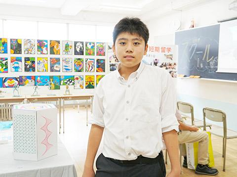 中2のクラス展示「日駒日本史館」
