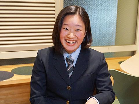 ダンス愛好会の活動に打ち込むために総合進学コースを選んだ曽根崎さん