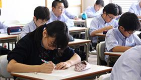 テスト本番で普段の勉強の成果をしっかり出しきれますように。