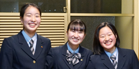共学校の女子生徒が過ごしてきた学校生活