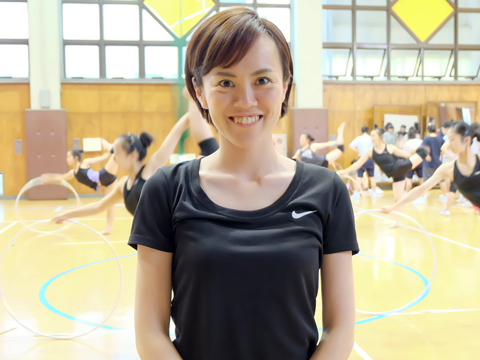 チームを世界大会優勝に導いた経験のある久保田先生が普段の指導にあたる。