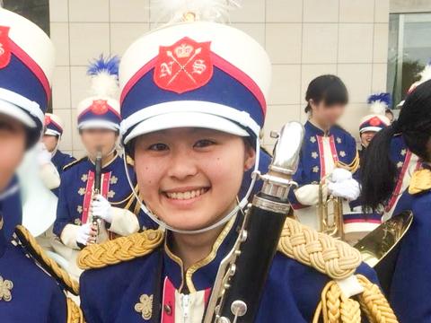 在学中は吹奏楽部に所属していたY.Wさん。精力的に部活動に参加しながら高い成績と評価を得て見事、国立大学の推薦を勝ち取りました