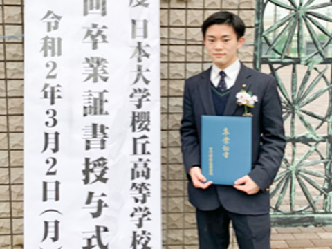テニス部に所属していたM.Mくんは、第一志望の早稲田大学に加え、慶應義塾大学、上智大学、明治大学などの有名私立大学にも次々と合格しました