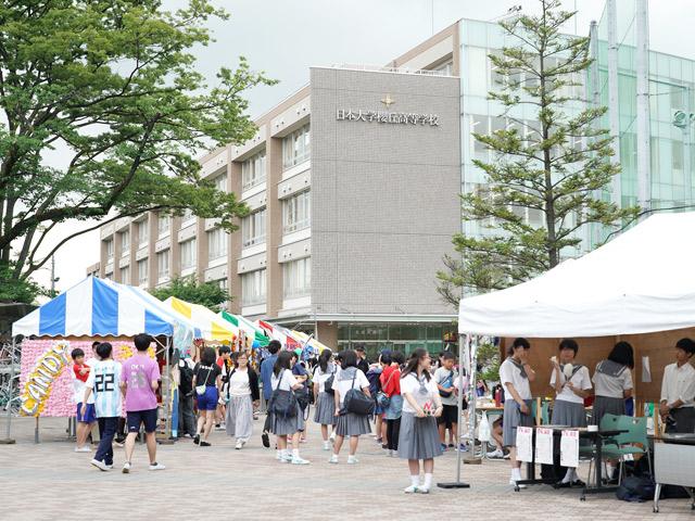櫻高祭(6月) 節目となる60回目の文化祭。今年のテーマは「青春櫻華」でした。