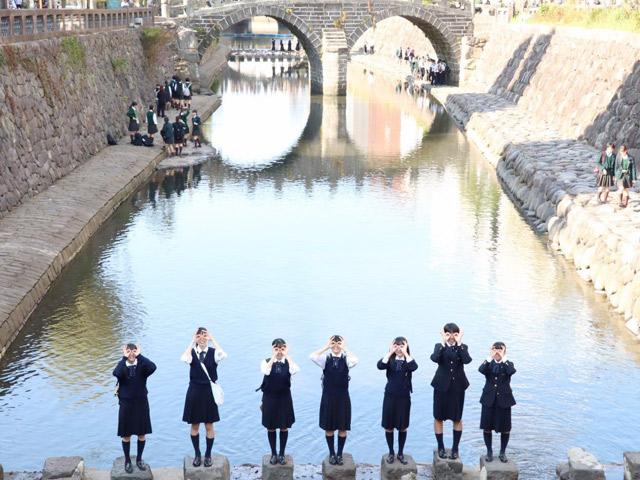 2年生修学旅行(10月) 修学旅行は4泊5日で九州に行きました。