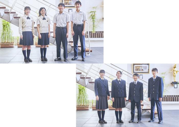 中学生の制服